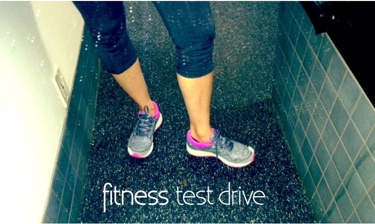 New Balance Fitness Test Drive