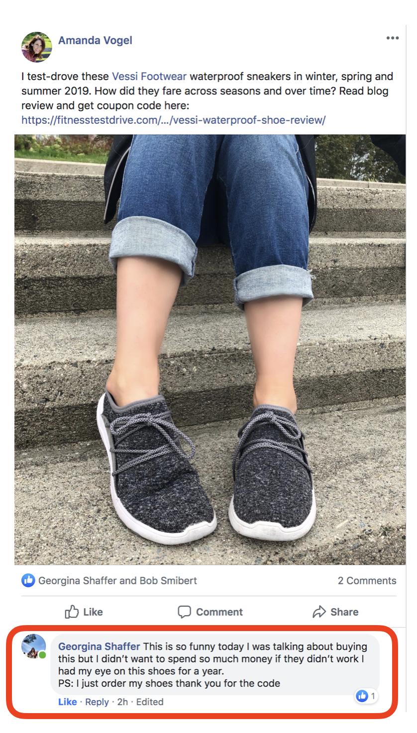 Vessi waterproof shoe review